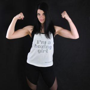 Majica brez rokavov, I'm a boxing girl